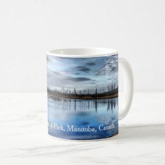 Autumn Whiteshell River Coffee Mug