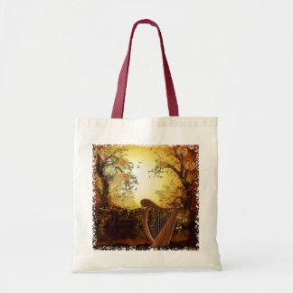 Autumn Wind Whimsical Fantasy Tote Bag