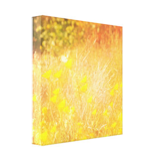 Autumn wing canvas print