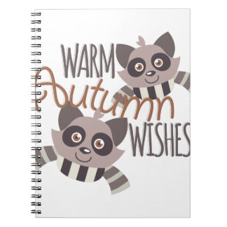 Autumn Wishes Note Books