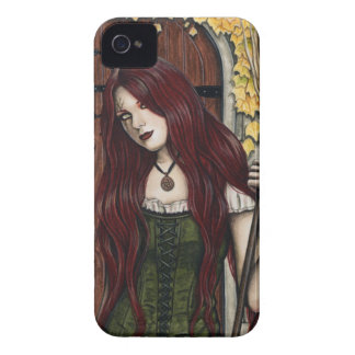 Autumn Witch Gothic Fantasy Art iPhone Case