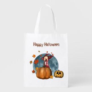 Autumn Witch Halloween Bag