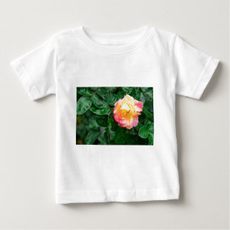 Autumn withered rose with raindrops baby T-Shirt