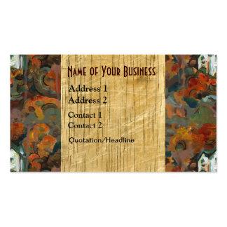 Autumn Wood Business Card Templates
