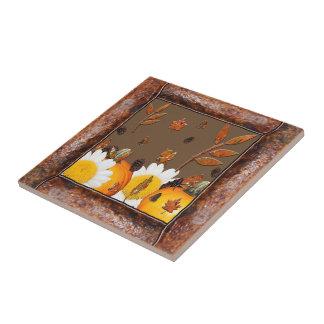 Autumn Wood Ceramic Tile