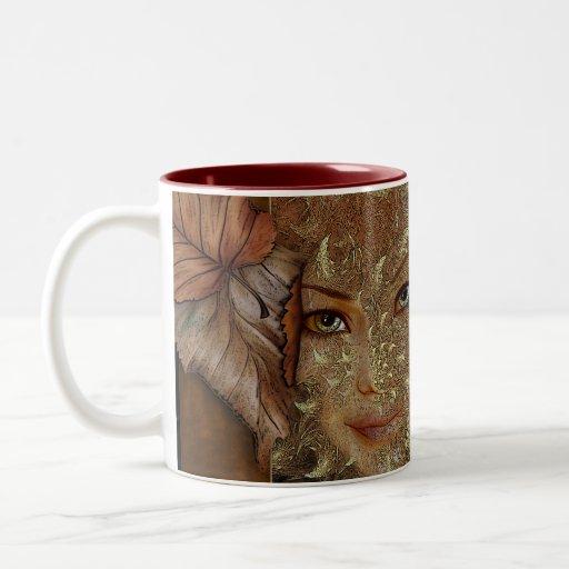 Autumn Wood Nymph Coffee Mugs