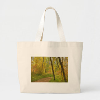 Autumn Woodlands Large Tote Bag