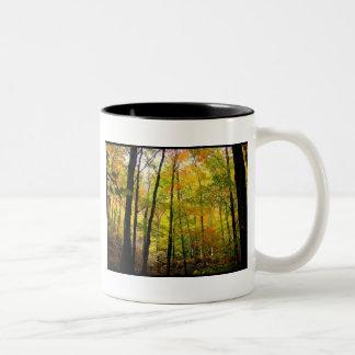 Autumn Woods Two-Tone Mug