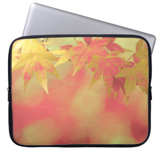 Autumn Zen Garden Maple Dreams Laptop Sleeve