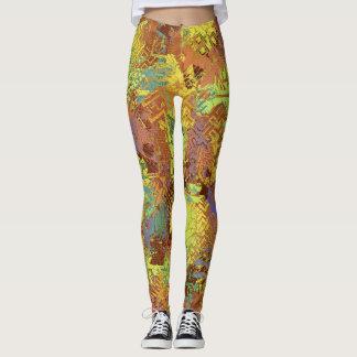 Autumnal Disarray Leggings