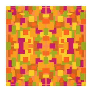 Autumnal Patch 2 C Fractal Canvas Print