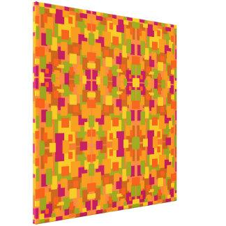 Autumnal Patch 2 Multi Fractal Medium Canvas Print