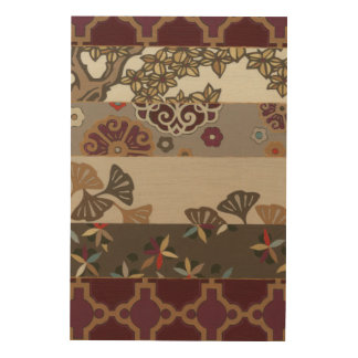 Autumnal Tapestry II Wood Wall Art