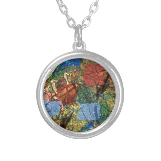 Autumns Dance Silver Plated Necklace