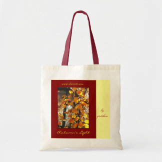 Autumn's Light Tote Bag by gretchen