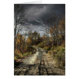 Autumns Road Card