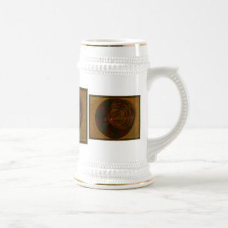 Autumn's Song Abstract Art 18 Oz Beer Stein