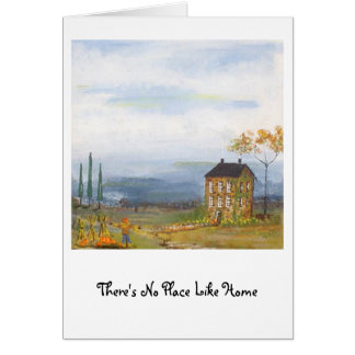 AutumnStoneHouse, There's No Place Like Home Greeting Card