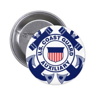 aux large logo pinback buttons
