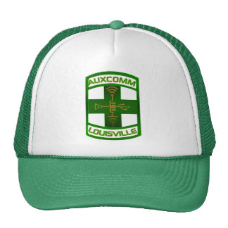 AUXCOMM Patch Hat Green