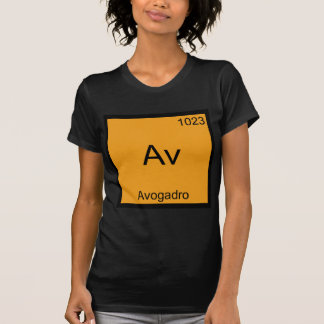 Av - Avogadro Funny Element Chemistry Symbol Tee
