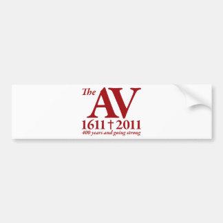 AV Still Going Strong in red Bumper Sticker