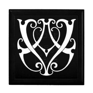 AV / VA Monogram Large Square Gift Box