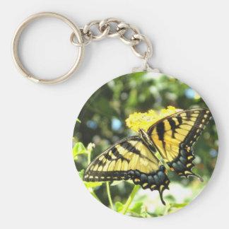 AV- Yellow Butterfly Keychain