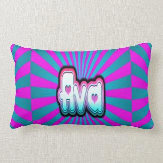 ava color lumbar pillow