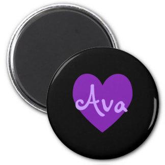 Ava in Purple Magnet