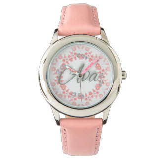 Ava Love Collection-Pink Watch