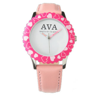Ava smarter by the minute wrist watches