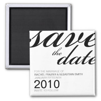 Ava Wedding Collection: Save the Date Magnet