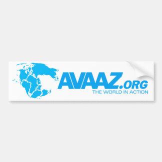 Avaaz.org Pangea Bumper Sticker