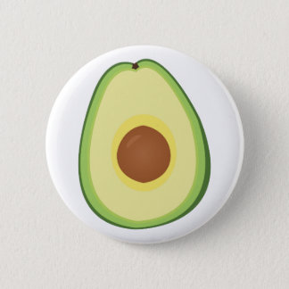 Avacado 6 Cm Round Badge