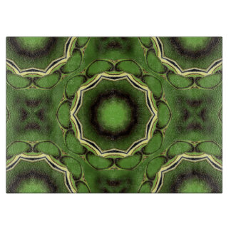 Avacado green with black color pattern cutting board