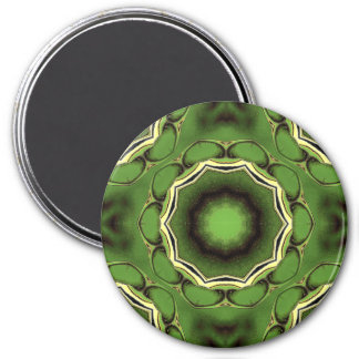 Avacado green with black color pattern magnet