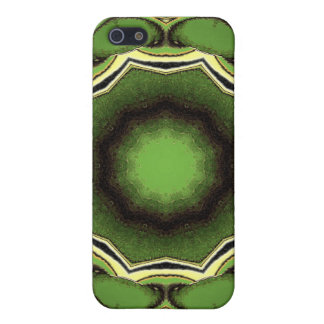 Avacado green with black lines iPhone 5/5S cover