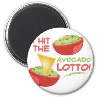 Avacado Lotto 6 Cm Round Magnet
