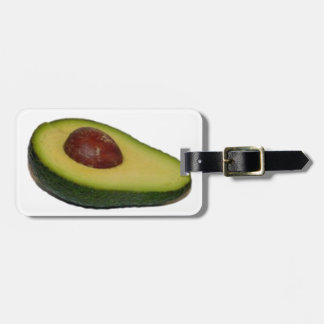 Avacado Luggage Tag