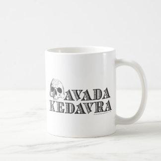 Avada Kedavra Basic White Mug