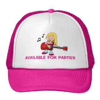 Available For Parties Cap