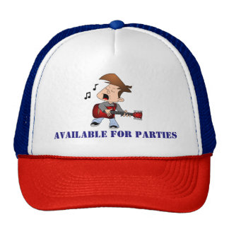 Available For Parties Music Cap