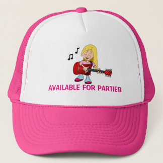 Available For Parties Trucker Hat