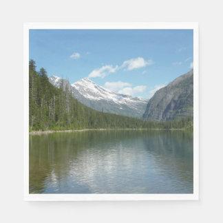 Avalanche Lake I in Glacier National Park Disposable Serviettes