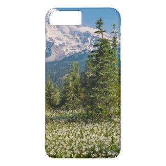 Avalanche lilies and Mount Rainier iPhone 7 Plus Case