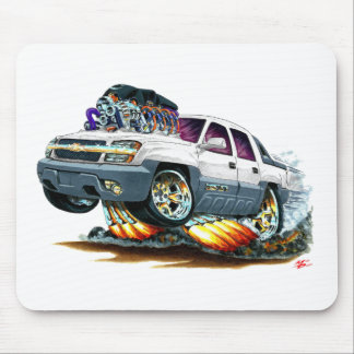 Avalanche White Truck Mouse Pad