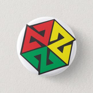 AVALON7 Inspiracon Rasta 3 Cm Round Badge