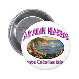 avalon 6 cm round badge