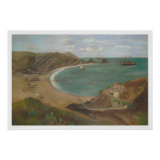 Avalon Bay, Santa Catalina Island (1212) Poster